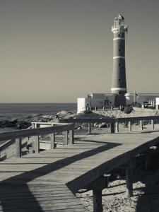 Faro Jose Ignacio, Atlantic Ocean Resort Town, Village Lighthouse, Uruguay by Walter Bibikow