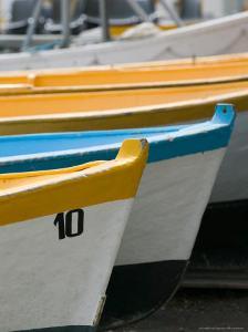 Fishing Boats, Spiaggia Grande, Positano, Amalfi Coast, Campania, Italy by Walter Bibikow