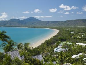Four Mile Beach and Trinity Bay, Port Douglas, North Coast, Queensland, Australia by Walter Bibikow