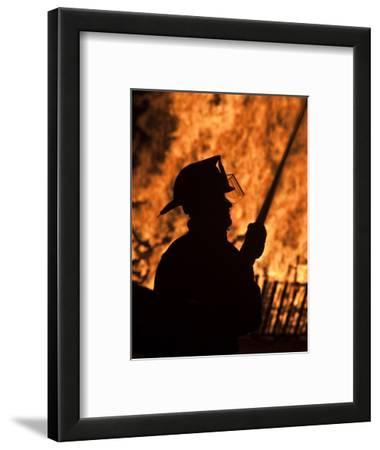 Fourth of July Holiday Bonfire, Rockport, Massachusetts, USA