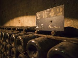 France, Marne, Champagne Ardenne, Reims, Pommery Champagne Winery, Champagne Cellars by Walter Bibikow