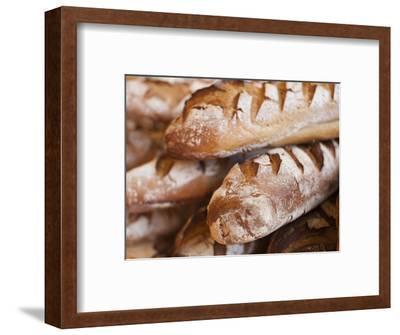 France, Moselle, Lorraine Region, Metz, Covered Market, Artisan Bread