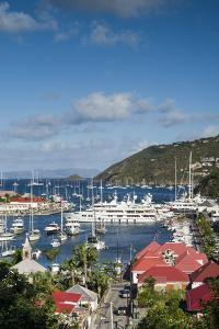 French West Indies, St-Barthelemy. Gustavia Harbor by Walter Bibikow