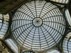 Galleria Umberto 1, Naples, Campania, Italy by Walter Bibikow
