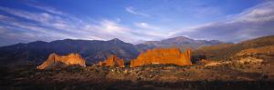 Garden of the Gods Park, Colorado Springs, Colorado, USA by Walter Bibikow