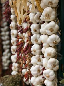 Garlic, Ischia Ponte, Ischia, Bay of Naples, Campania, Italy by Walter Bibikow