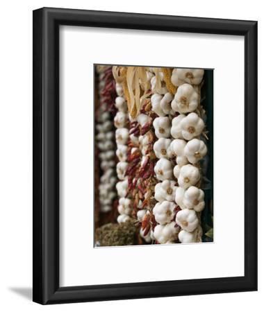 Garlic, Ischia Ponte, Ischia, Bay of Naples, Campania, Italy