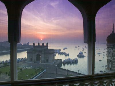 Gateway of India, Mumbai, India by Walter Bibikow
