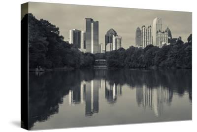 Georgia, Atlanta, City Skyline from Piedmont Park