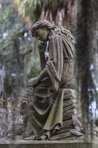 Georgia, Savannah, Bonaventure Cemetery by Walter Bibikow