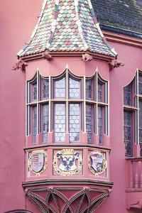 Germany, Baden-Wurttemburg, Black Forest, Freiburg-Im-Breisgau, Altstadt by Walter Bibikow