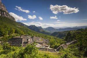 Greece, Epirus, Zagorohoria, Vikos Gorge, from Mikro Papingo Village by Walter Bibikow