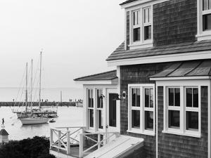 Harbour, Menemsha, Martha's Vineyard, Massachusetts, USA by Walter Bibikow