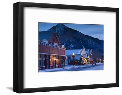 Historic Buildings Along Elk Avenue, Crested Butte, Colorado, USA