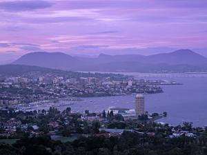 Hobart, Tasmania, Australia by Walter Bibikow