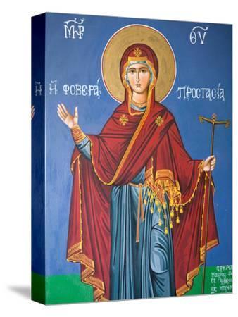 Interior Religious Paintings, Eleftherotria Monastery, Macherado, Zakynthos, Ionian Islands, Greece