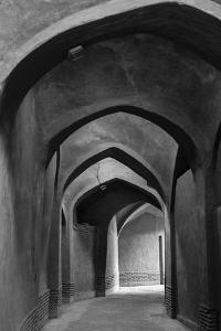 Iran, Yazd, Arches by Walter Bibikow