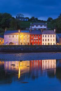 Ireland, County Cork, Bantry, harbor view, evening by Walter Bibikow