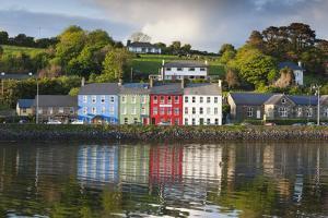 Ireland, County Cork, Bantry, harbor view, sunset by Walter Bibikow