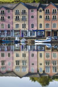 Ireland, County Cork, Bantry, harborfront buildings by Walter Bibikow