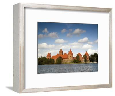 Island Castle on Lake Galve, Trakai Historical National Park, Trakai, Lithuania