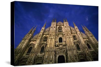 Italy, Lombardy, Milan, Duomo, Florence Cathedral at Dusk