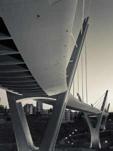 Jordan, Amman, Amman Suspension Bridge by Walter Bibikow