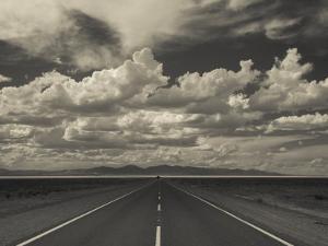 Jujuy Province, Salinas Grande Salt Pan, Rn 52 Highway, Argentina by Walter Bibikow