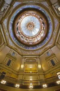 Kansas State Capital Interior, Topeka, Kansas, USA by Walter Bibikow