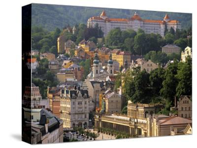 Karlovy Vary Spa Town, West Bohemia, Czech Republic