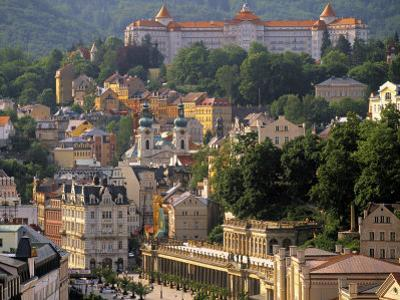 Karlovy Vary Spa Town, West Bohemia, Czech Republic