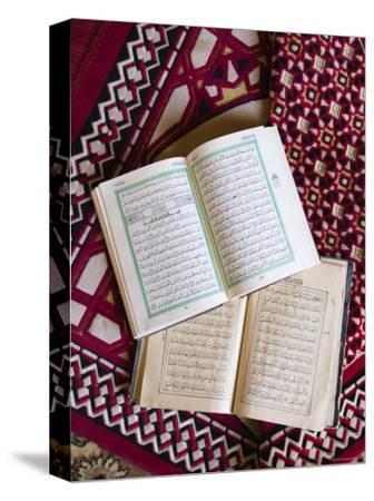 Koran in the Al Minitrib Fort Mosque, Sharqiya Region, Oman