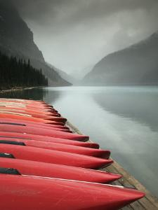 Lake Louise, Banff National Park, Alberta, Canada by Walter Bibikow