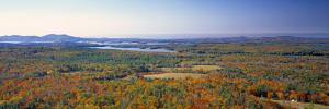 Lake Winnipesaukee, New Hampshire, USA by Walter Bibikow