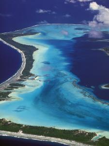 Le Meridien Hotel Bungalows, , Bora Bora, French Polynesia by Walter Bibikow