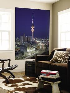 Liberation Tower and City, Kuwait City, Kuwait by Walter Bibikow