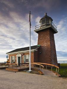 Lighthouse Surfing Museum, Lighthouse Field State Beach, Santa Cruz, Central Coast, California, Usa by Walter Bibikow