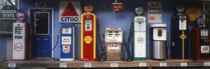 Littleton Historic Gas Station, New Hampshire, USA by Walter Bibikow