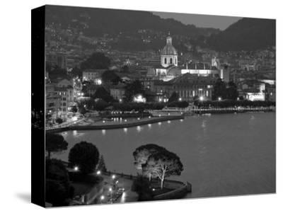 Lombardy, Lakes Region, Lake Como, Como, City View from Bellagio Road, Italy