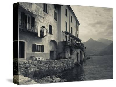 Lombardy, Lakes Region, Lake Como, Santa Maria Rezzonico, Lakeside Houses, Italy