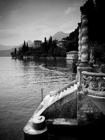 Lombardy, Lakes Region, Lake Como, Varenna, Villa Monastero, Gardens and Lakefront, Italy