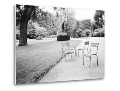 Luxembourg Gardens Statue of Liberty and Park Chairs, Paris, France