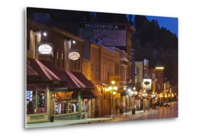 Main Street at Dusk, Deadwood, South Dakota, USA