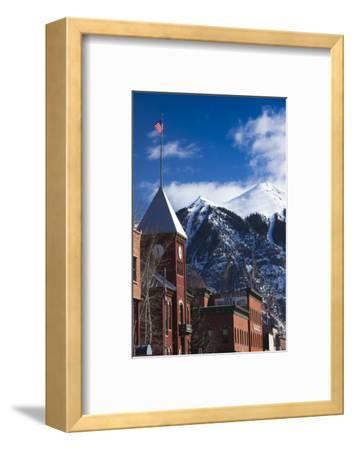 Main Street Buildings, Telluride, Colorado, USA