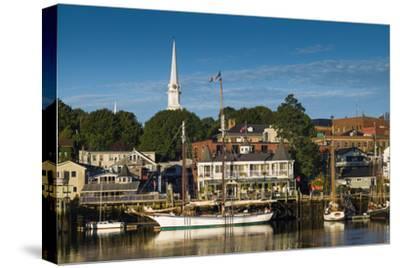 Maine, Camden, Camden Harbor, Dawn