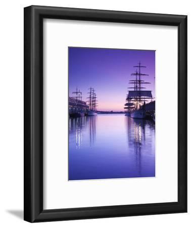 Massachusetts, Boston, Sail Boston Tall Ships Festival, Tall Ships by World Trade Center, USA