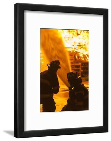 Massachusetts, Cape Ann, Rockport, Fourth of July Bonfire, Firemen
