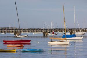 Massachusetts, Cape Cod, Provincetown, the West End, Boats by Walter Bibikow