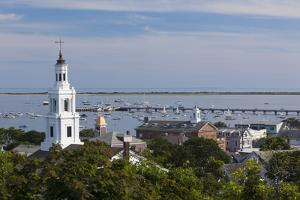 Massachusetts, Cape Cod, Provincetown, View Towards the West End by Walter Bibikow