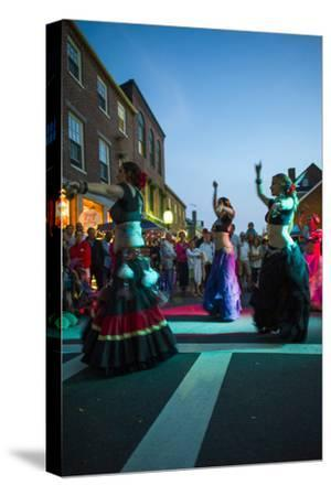 Massachusetts, Gloucester Downtown Block Party, Belly Dancers